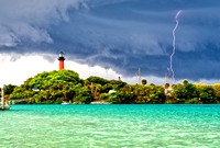 Jupiter Lighthouse storm 4.15.16