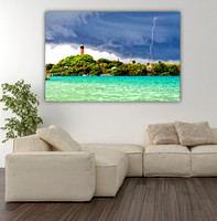 "'INLET LIGHTENING"" JUPITER FL 40X60 HD METAL"