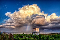 Beautiful thunderstorm off the coast of Hobe sound fl. 6.19